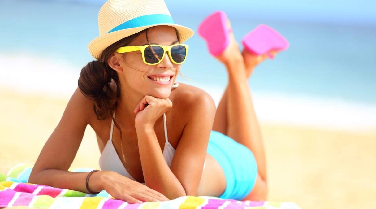 Como deixar os cabelos protegidos no verão