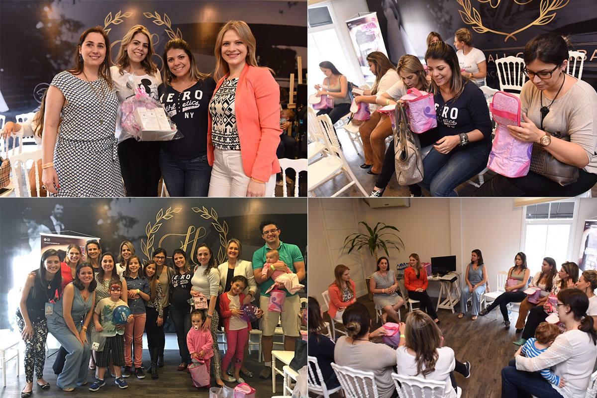 Bate-papo com gestantes e mães no Evento Faça Festa Curitiba